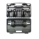 STAMINA Dumbell Set 15kg [ST-811-15B] - Cast Iron - Barbell / Dumbbell